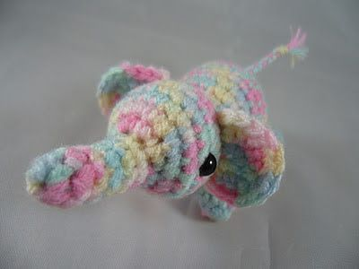 Amigurumi Smellie the ellie