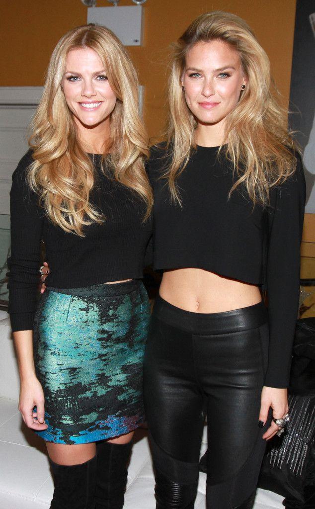 Brooklyn Decker & Bar Refaeli from 2014 Super Bowl Party Pics   E! Online
