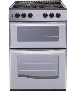 Buy New World NWG55TT 55cm Gas Cooker - Silver/Ins/Del/Rec at Argos.co.uk, visit Argos.co.uk to shop online for Freestanding cookers
