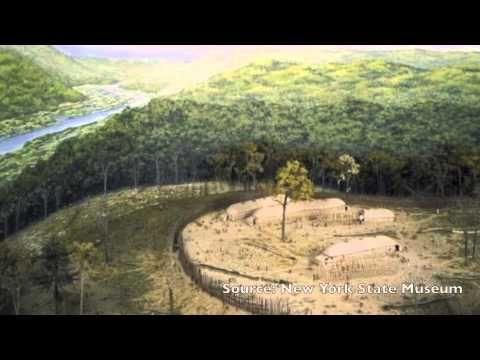 Les habitations des Iroquoiens vers 1500 - YouTube