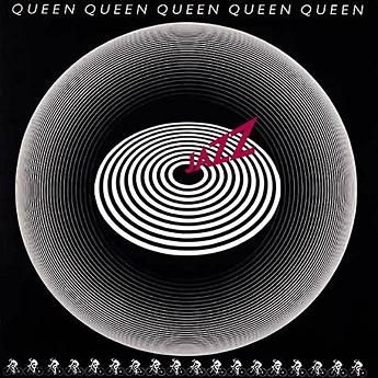 Queen – Jazz  Optical album cover., 1978.