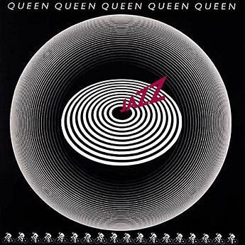 Queen – Jazz Optical album cover., 1978.