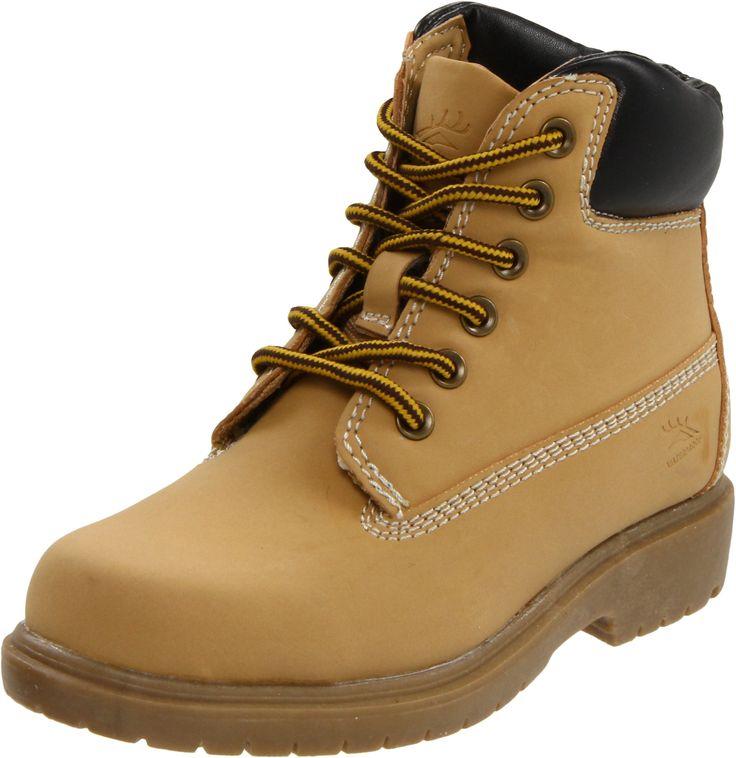 Deer Stags Mack Boot (Toddler/Little Kid/Big Kid),Wheat,3 M US Little Kid. Adjustable circumference.