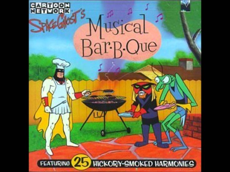 I Love Almost Everybody Space Ghost Musical Bar-B-Que track 16