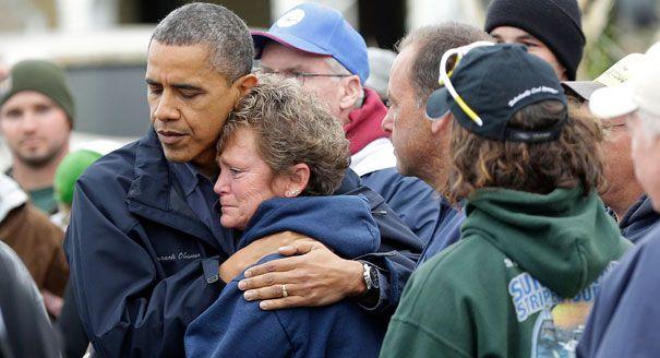 He never lets me down with the hugs.Presidents Obama, Sandy Victim, 2012 Election, Presidents Barack, Hurricane Sandy, Obama Visit, Peopleth Obama, Barack Obama, New Jersey