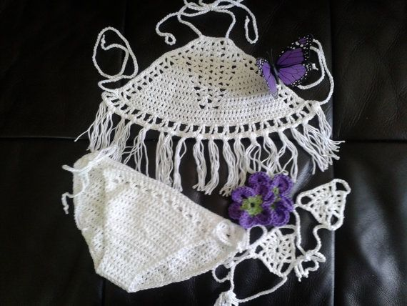 Gypsy Princess Bikini Set by LittleGypsyRoseBoho on Etsy