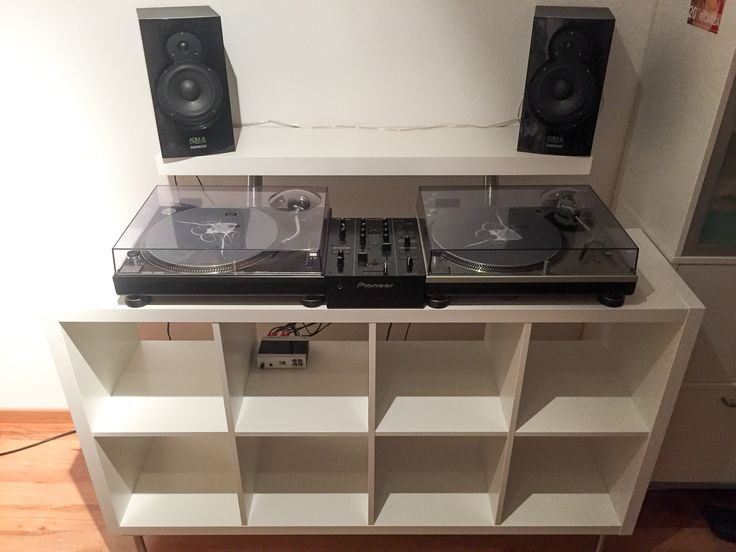 Trend DJ Pult aus IKEA Teilen KALLAX LACK CAPITA