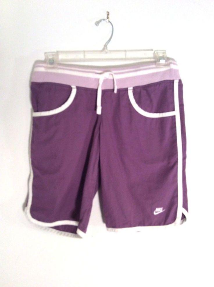 Nike Women's Training Shorts,Purple, SIze Small,Long Length,Athletic,Exercise #Nike #AthleticShorts