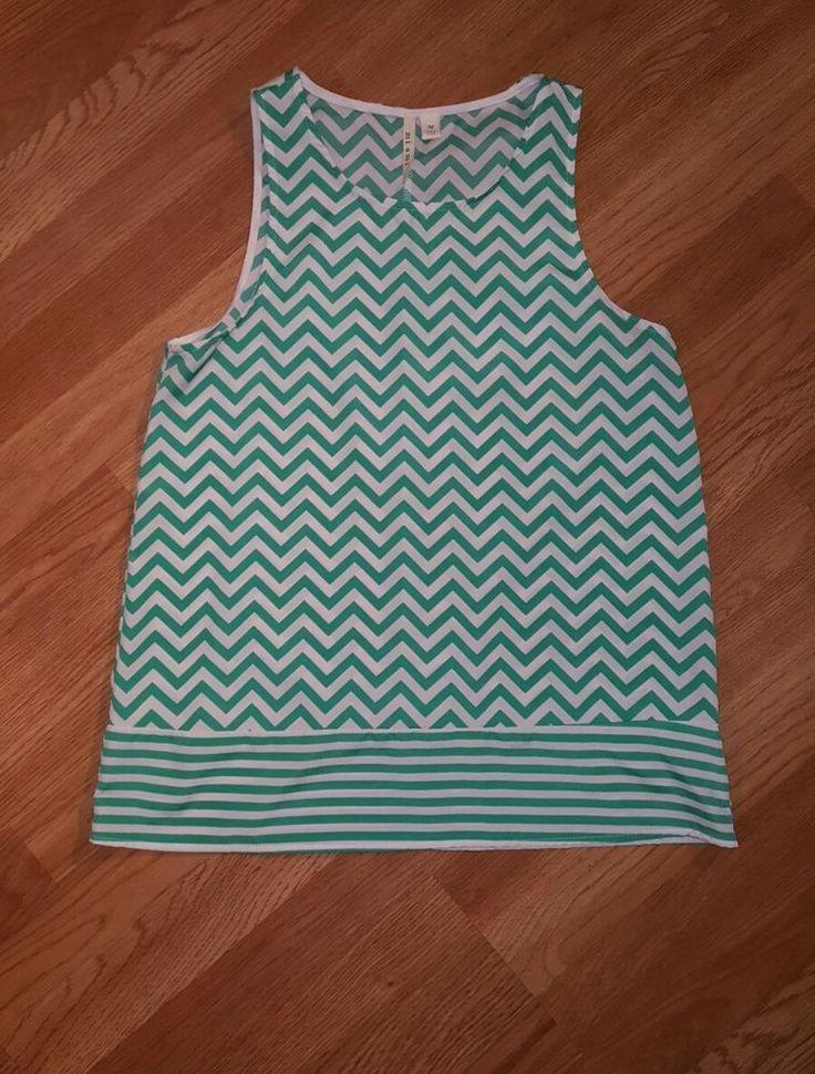 Miami Medium Chevron Blouse Sleeveless Tank Top | Clothing, Shoes & Accessories, Women's Clothing, Tops & Blouses | eBay!