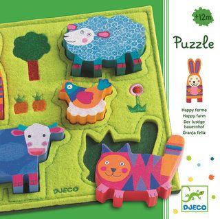 Puzzle Instalación del feliz de Granja