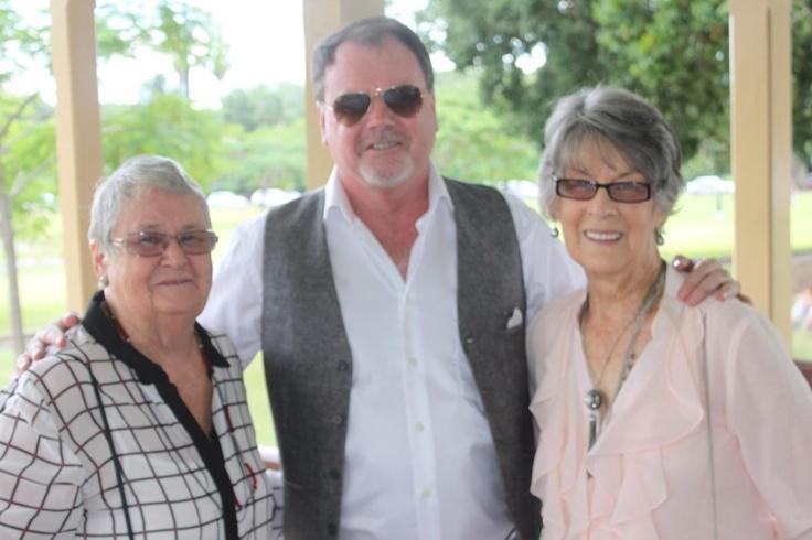 The groom with Joanie & Shirley