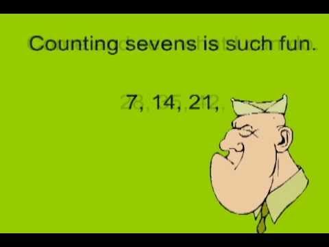 I always use havefunteaching.com's skip counting videos for multiplication.... but my class struggles to remember 7s! I'll use Sergeant Seven-- with a march for kinesthetic/execise