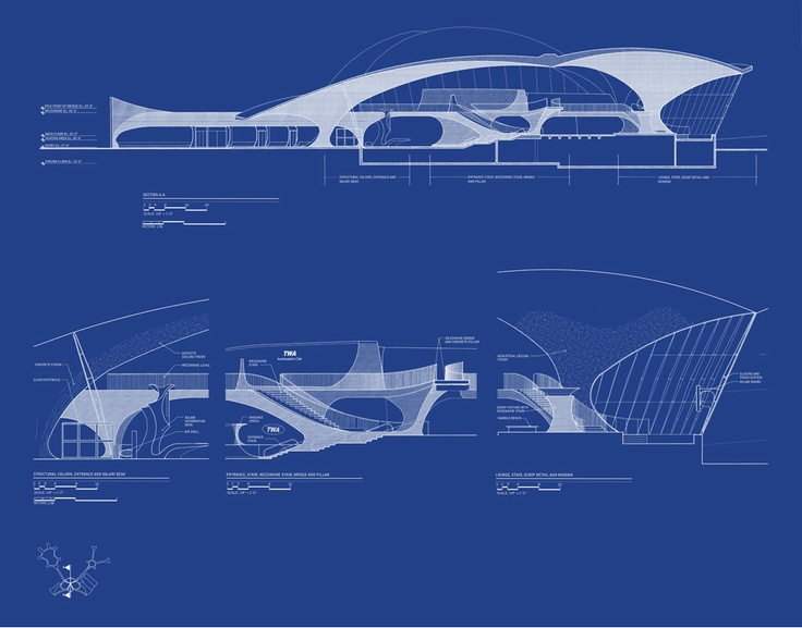 Chrysler Building Blueprint Architecture Blueprintshouse