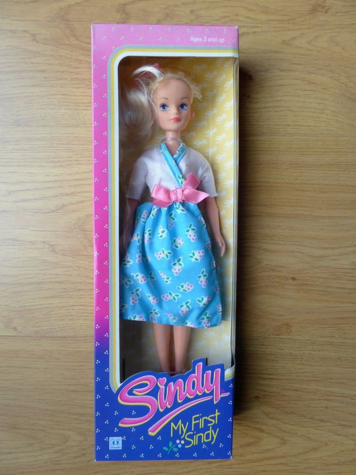 A MY FIRST SINDY DOLL FROM 1987 | 19.99+2.8