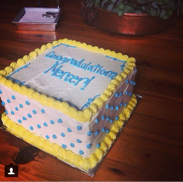 Congratulations graduation cake!