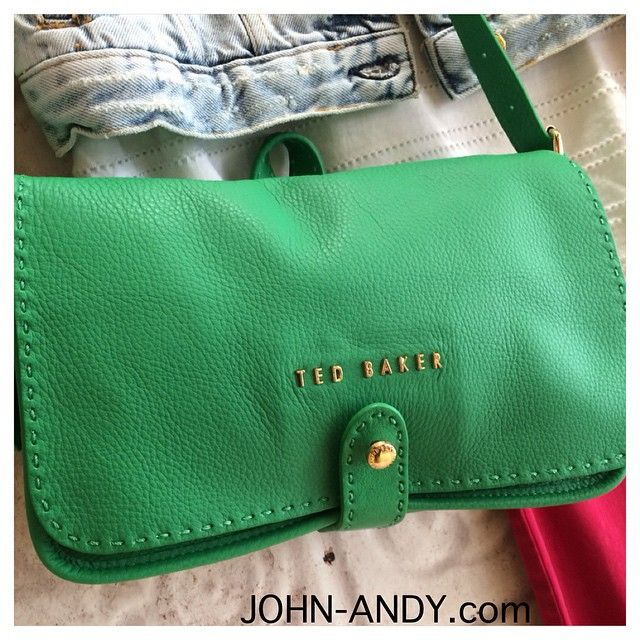 #johnandy #newarrivals #woman #bag #tedbaker #leather #call_for_orders #00302109703888  www.john-andy.com