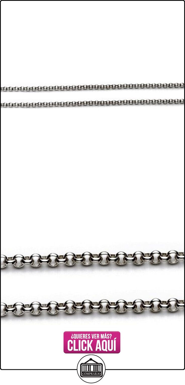 LIOR - Cadena de Plata para Mujer y Hombre Ancho: 5mm Largo: 100cm (Plata 925 100%)  ✿ Joyas para hombres especiales - lujo ✿ ▬► Ver oferta: http://comprar.io/goto/B00FEEIHZ2
