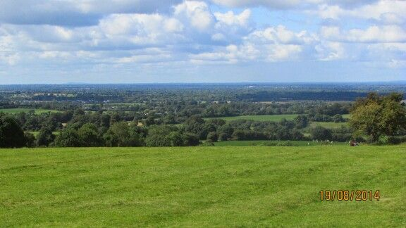 View from the hill of Tara