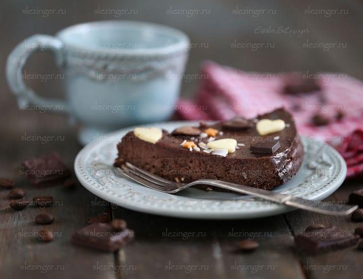 Полезный шоколадный чизкейк   Рецепты правильного питания - Эстер Слезингер