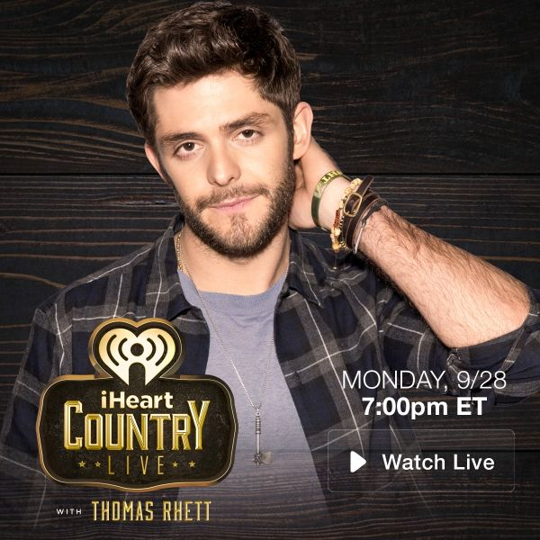 Yes! Thomas Rhett will be on the Bull tonight with tracks from his new album! Click the pic for more! #iHeartCountry #iHeartRadio #HornsUp #GeorgiaCountry