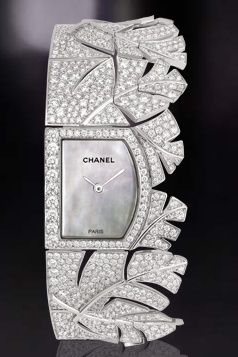 Wear to Stand Out ❤'s this Chanel Diamond Watch!