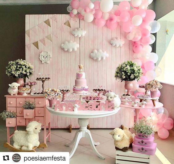 Temas De Baby Shower 2018 2019 Duchas De Beb 233 Princesa Mesas Para Baby Shower