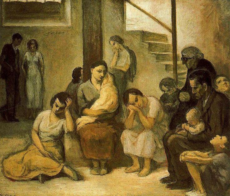 Nicanor pi ole la escuela de gij n trianarts pintores - Pintores en gijon ...