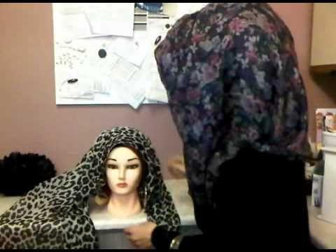 Dina Toki-o style #Hijab #tutorial