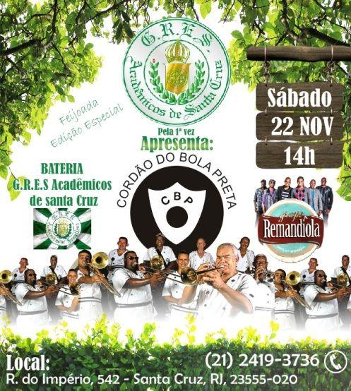 Santa Cruz é Tudo de Bom: 22 de novembro - Cordão do Bola Preta pela 1ª vez ...