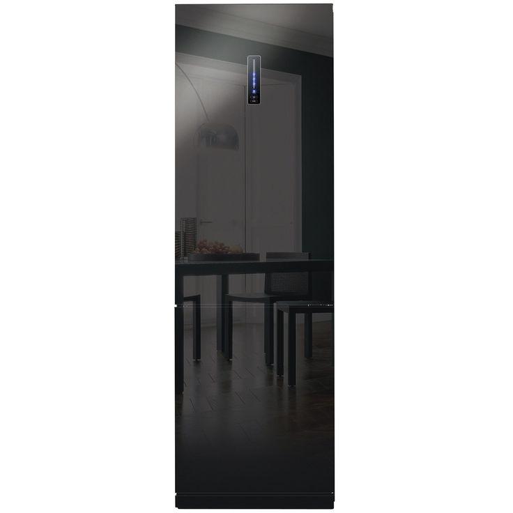 Combina frigorifica Daewoo RN T425NPB – Cu usi din sticla neagra pentru o bucatarie premium!