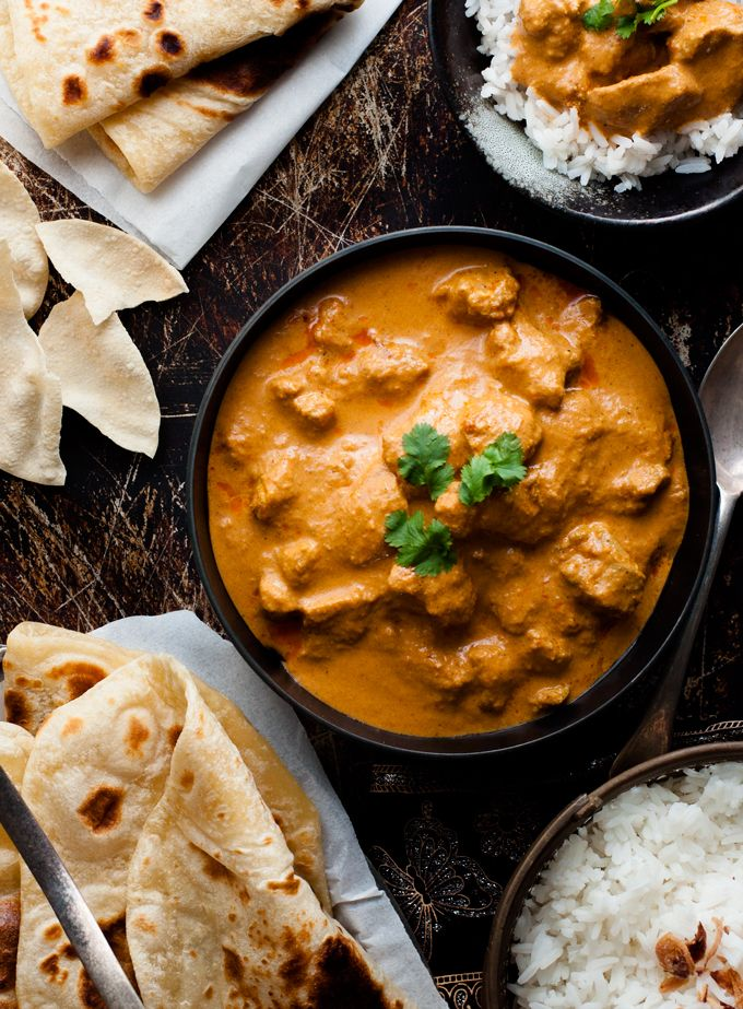 Butter Chicken - a chef recipe which is so simple and uses ingredients from the…