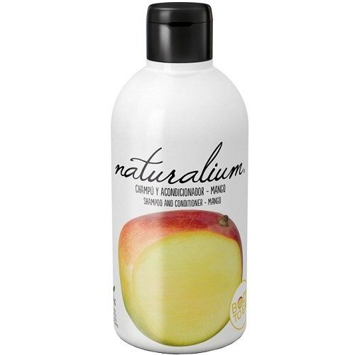 Naturalium Plaukų šampūnas ir kondicionierius, mango kvapas 400 ml