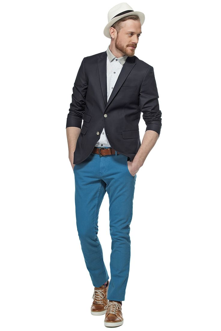 Une touche de turquoise! / A touch of turquoise! https://www.tristanstyle.com/en/hommes/looks/5/hv020g0049zrs50/ #tristanstyle #ss15 #turquoise