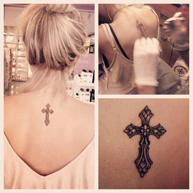 Cross Tattoo | Women Tattoo Ideas