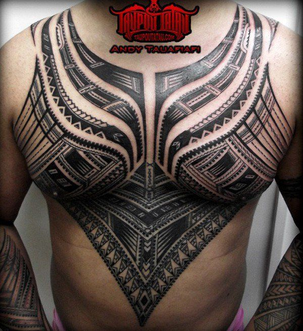 Samoan TattooArt - 30 Pictures of Samoan Tattoos  <3 !