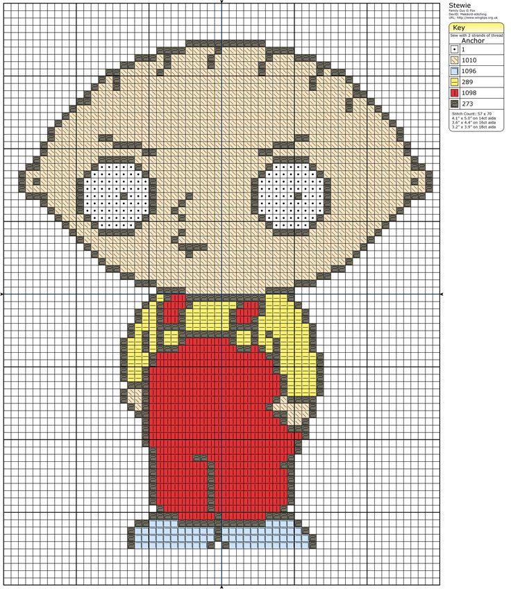 7 mejores imágenes sobre Family Guy en Pinterest   Puntadas ...