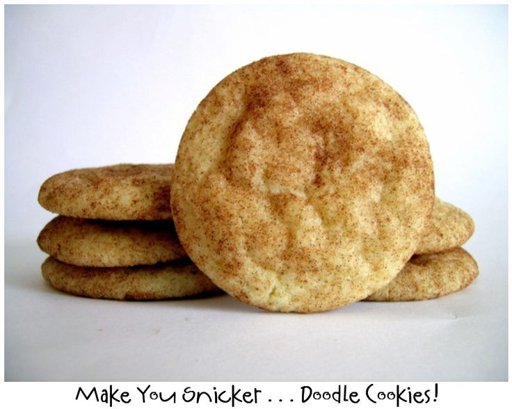 Prepared NOT Scared!: Mix Recipe #13: Make You Snicker Doodle Cookies!