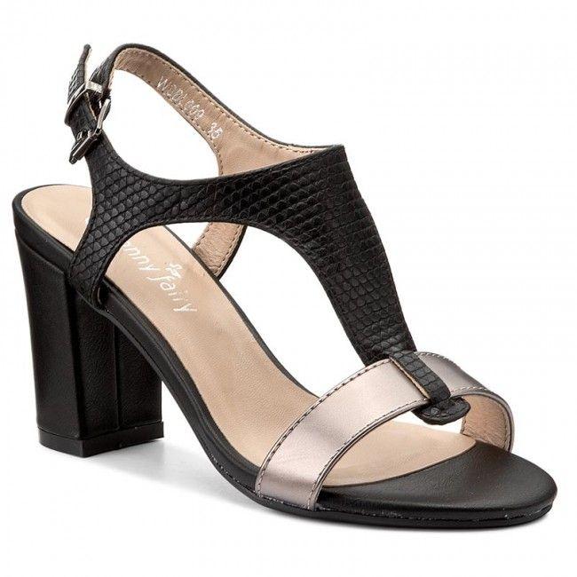 Sandále JENNY FAIRY - WSBL009 Čierna