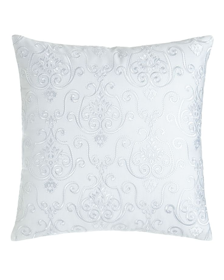 Shop Lara Embroidered Pillow from Charisma at