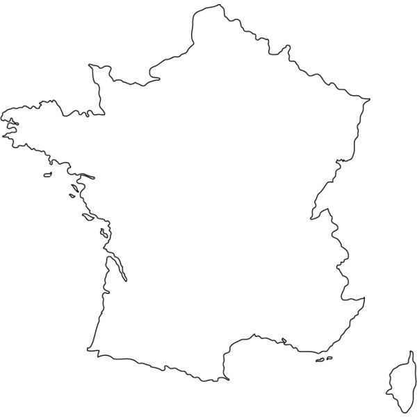 france outline map ❤ liked on Polyvore featuring fillers and collage