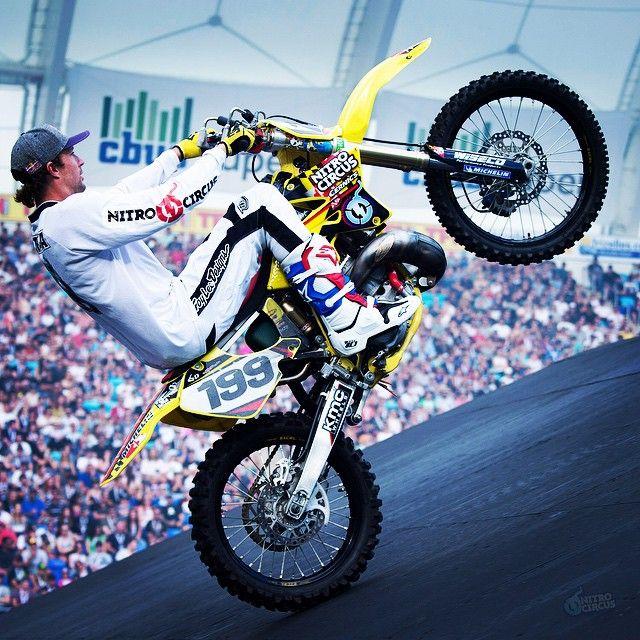 What do you think of @TravisPastrana's bike? #NitroCircus