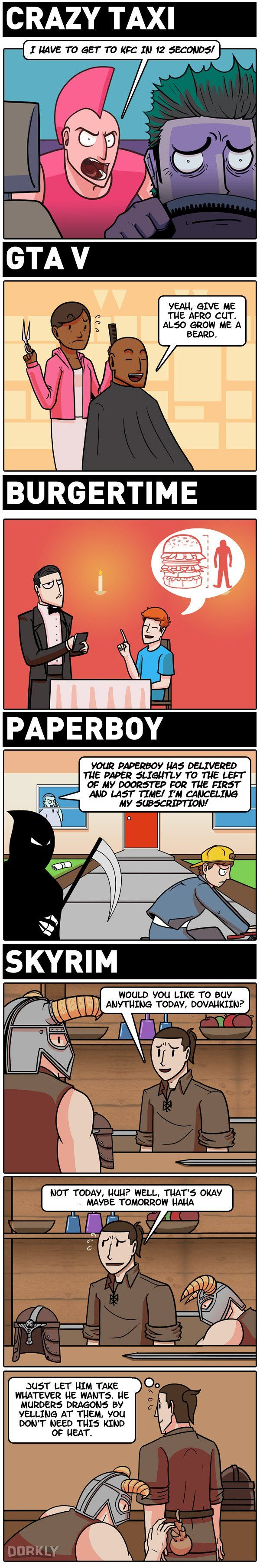 The worst customers in video games #comic