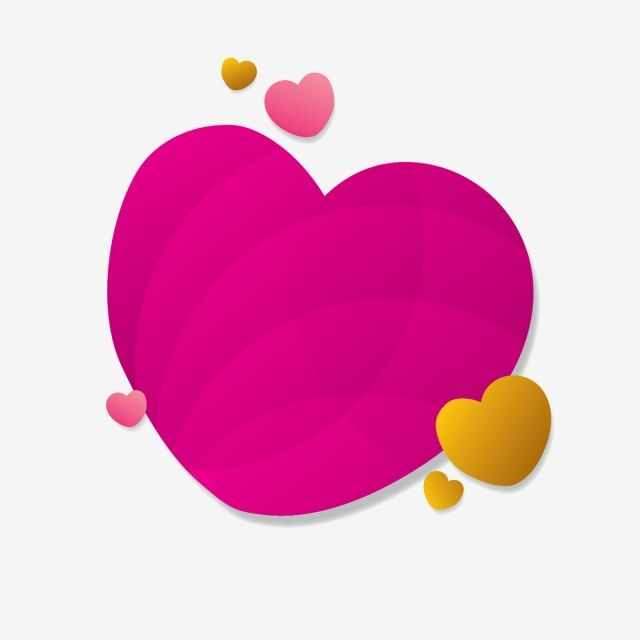 Heart Abstract Elements Vector Illustration Heart Clipart Abstract Background Png And Vector With Transparent Background For Free Download Vector Illustration Abstract Illustration