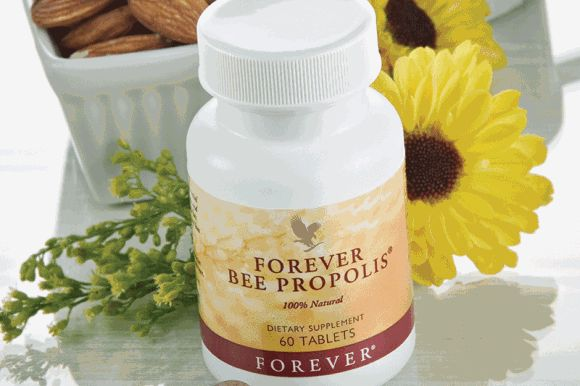"Tip of the week This week's product tip is from Kathryn Turner; ""I crush a Forever Bee Propolis tablet and mix it with a spoon of honey for my daughter when she has a cold coming on, and it definitely helps keep it at bay."""
