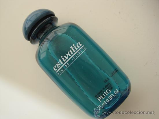 BOTELLA COLONIA ESTIVALIA PUIG-SIN USO--VINTAGE (Botellas, Cajas y Envases - Miniaturas de Perfumes.)