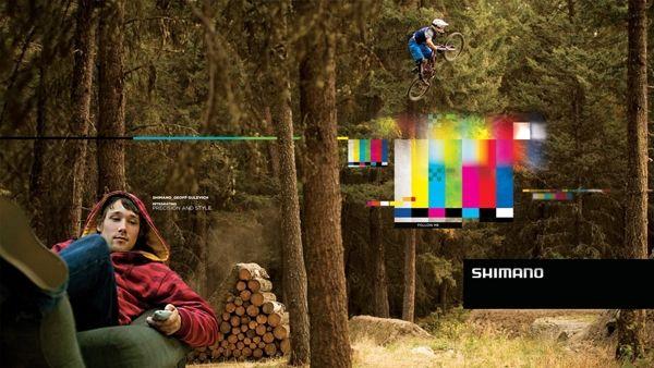 Shimano MTB Advertising on Behance