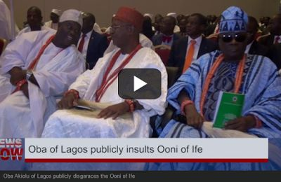 VIDEO: Oba Of Lagos Humiliates Ooni Of Ife In Lagos In Public http://ift.tt/2p5HwSu