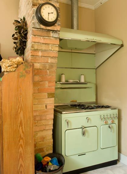 Chambers Countertop Stove : ... stove vintage appliances vintage stoves kitchen stove green kitchen