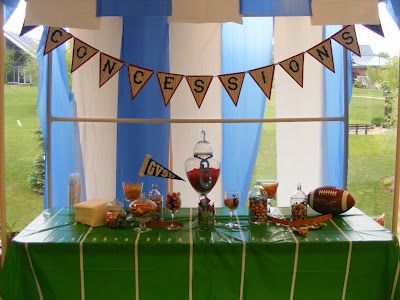 Charlie's First Birthday - Football party