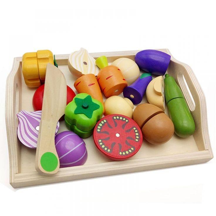 Funny Baby Kitchen Toys Wooden Baby Toys Toy Kitchen Toy